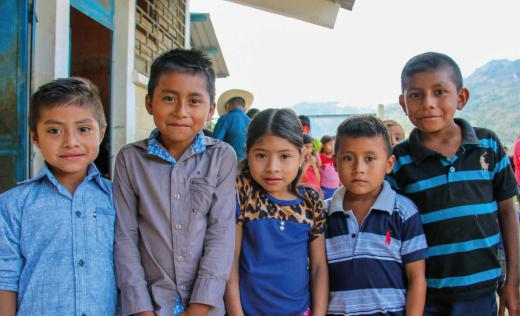Children from Chiquimula, Guatemala
