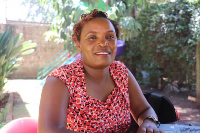 Ms Regina Mbochi, a nutritionist who has monitored children's dietary needs in the Northern Counties for 10 years now. Florence Dzame/Save the Children