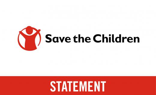 Save the Children's Statement