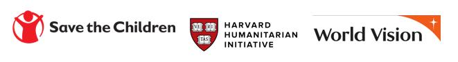 Save the Children, World Vision, Harvard Humanitarian Initative
