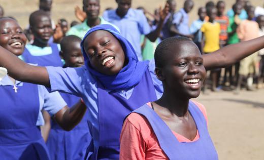 TeamUp activities in West Nile, northern Uganda. Alun McDonald / Save the Children