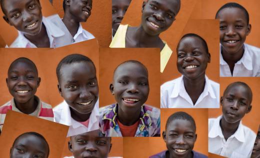 Children from the debate club