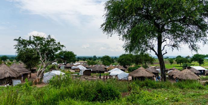 Bidi Bidi refugee settlement