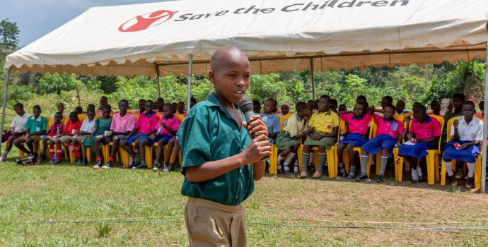 Children in Wakiso speak out