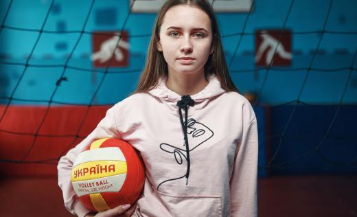 Katya is model at the virtual photos gallery