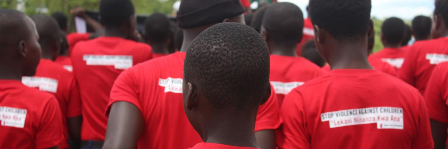 'No to violence against children' march in Zambia
