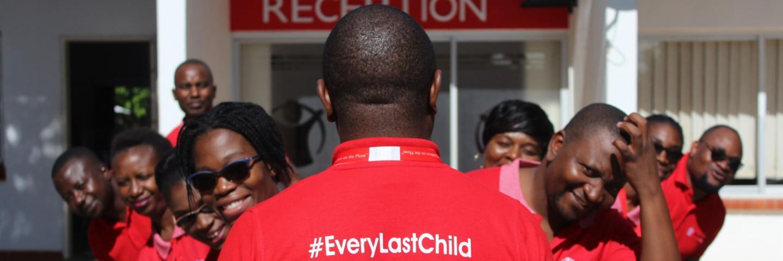 Save the children staff in Zambia