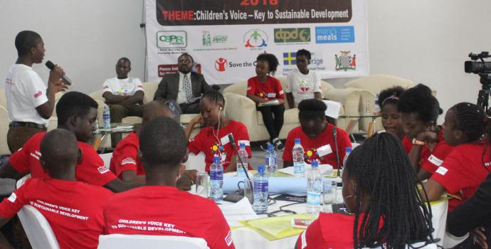 National children's symposium 2018 on children's voice - the key to sustainable development
